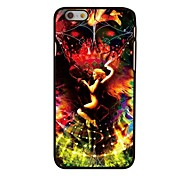 Angle and Devil Style Plastic Hard Back Cover for iPhone 6