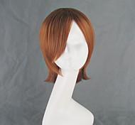 Toaru Kagaku no Railgun Misaka Mikoto Dark Orange Short Cosplay Wig