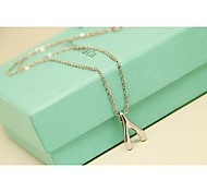Fashion Korea Wish Alloy Short Necklace for Women in Jewelry Gift