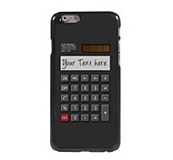 "Personalized Gift Calculator Design Metal Case for iPhone 6 (4.7"")"