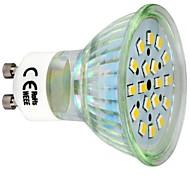 3W GU10 Focos LED 18 SMD 2835 260 lm Blanco Cálido AC 100-240 V