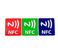 NFC Tags Stickers Set Fully Compatible Ntag203 144 Bytes (3 PCS)