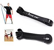 KYLIN SPORT™ Black Natural Latex Rubber Gym Training Resistance Band Fitness Assisted Pull-up Crossfit