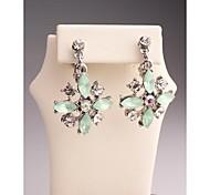 Fashion Korea Flower Gold Plated Clip Earrings for Women in Jewelry