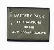 880mAh аккумулятора цифровой фотокамеры BP-88b для действующим Samsung MV900 mv900f