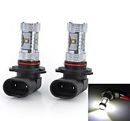 Lampadine LED smart 6 LED ad alta intesità H4/H7/9005 30 W 1500-2000 LM Luce fredda 2 pezzi DC 12/DC 24 V