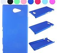 Pure Color Non-Slip Design Hard Case for Sony Xperia M2 S50h(Assorted Colors)