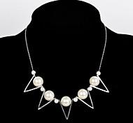 collar de perlas de la moda declaración