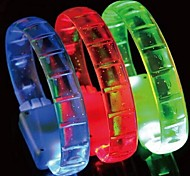 Hallowmas Christmas Party LED Flash Bracelet Toys(Random Color)