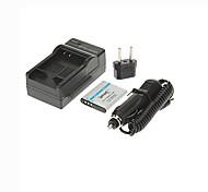 ismartdigi-olympus li-50b (950mAh, 3.7v) batería de la cámara enchufe + cargador de coche + eu para SZ12 SZ30 sz31 sz11 xz-1 pluma d-li92