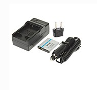 Ismartdigi-Olympus Li-50B(950mAh,3.7V)Camera Battery+EU Plug+Car Charger For SZ12 SZ31 SZ11 SZ30 XZ-1 Pen D-Li92