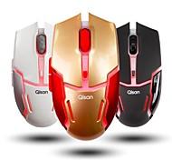 qisan crotalus-ii 2.4GHz Wireless 800-1600dpi rote LED einstellbar Maus