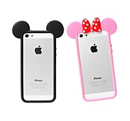 Mouse Ear Soft Silicon Soft Case for iPhone 4/4S (Assorted Colors)