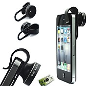 Universal-Handy-Objektiv Clip-on-Fisheye-Objektiv Kreisform Kamera iphone / Samsung / HTC / iPad / Tablet PC / Laptops
