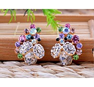 Stud EarringsJewelry Alloy / Rhinestone Wedding / Party / Daily / Casual / Sports