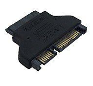 Slim SATA 7+15 22Pin Male to SATA 7+6 13Pin Female Adapter
