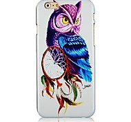 Night Owl Pattern Hard Back Case for iPhone 6