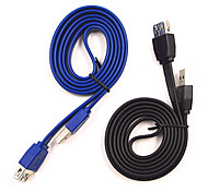 Sensecheering 1M 3.28FT USB3.0 Male to USB3.0 Female USB extension Cable Free Shipping