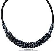 Crystal Gorgeous Ladies Temperament Fashion Short Necklace