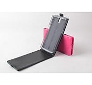 vendita calda cassa di cuoio dell'unità di elaborazione del cuoio di vibrazione 100% per OnePlus uno (colori assortiti)