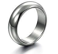 Lureme®Fashion Men's Titanium Steel  Ring Christmas Gifts