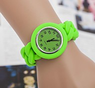 Women's Fashion Plastic Quartz Wrist Watch(Assorted Colors)