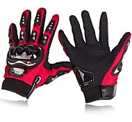 de invierno pro-biker ™ cálidos a prueba de viento de protección completa dedos guantes de moto