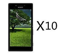 High Definition Screen Protector for Sony Xperia M2 S50h(10 pcs)