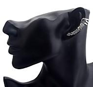 Lureme®Fashion  Drill Seven Star Ear Clip Earring