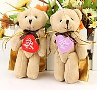 Heart-shaped Patch Joint Xiong Jinyin Bag Condy Box--Set of 6