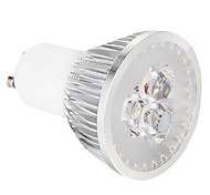GU10 3 W 3 High Power LED 270 LM Warm White Dimmable Spot Lights AC 220-240 V