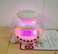 Coway Natural Sound Music Shine Ball Colorful LED Alarm Clock Nightlight
