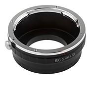 neewer® Objektivanschluss-Adapter für Canon EOS Objektiv / 3 MFT Olympus PEN und Panasonic Lumix Kameras m4