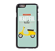 Beautiful Ride Pattern Aluminum Hard Case for iPhone 6
