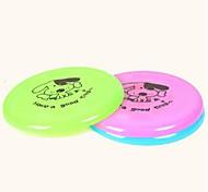 товаров для домашних животных пластиковую летающие диски собака игрушка случайный цвет