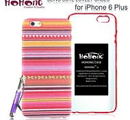HOHONG ® Lovely Chinese Ethnic Clothing Pattern Design Case for iPhone 6 Plus 5.5""