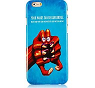 Modelling of Hands Pattern Hard Back Case for iPhone 6