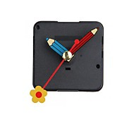 Quartz Silent Clock Movement Mechanism Flower Hand DIY Repai