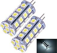 G4 W 30 SMD 5050 400~420 LM Warm wit/Koel wit 2-pins lampen DC 12 V