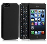 ultra-sottile caso bluetooth senza fili di back-luce 3.0 tastiera per iphone 5 5s