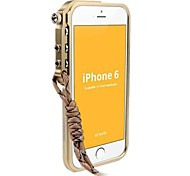 Light Gold Metal Bumper for iPhone 6