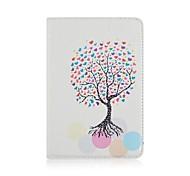 желая рисунок дерева пу кожи всего тела чехол для Ipad mini4 MINI3 / 2/1