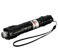 LT-532B Muti-image Green Laser Pointer (4MW,532nm,1x18650,Black)