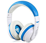 VYKON MQ55 3.5mm Plug On-ear Stereo Headphones with Microphone & 1.2 m Cable (Assorted Colors)