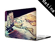 """Pirate Ship Design Full-Body Protective Plastic Case for 13""""/15"""" MacBook-Pro with Retina Display"""