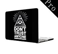 "Don't Trust Anyone Design Full-Body Protective Plastic Case for MacBook Pro 13""/15"" (Non-Retina)"