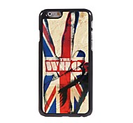 The Union Jack Pattern Aluminum Hard Case for iPhone 6