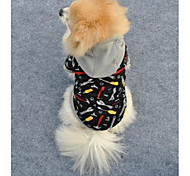 Cool Practical Tool Soft Fleeces Hoodies for Pet Dogs (Assorted Sizes)