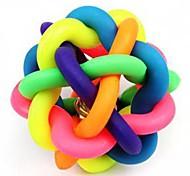 artículos para mascotas pelota toque con juguetes para masticar juguete campana perro