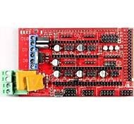 rampas robotale 1,4 mendelprusa RepRap placa de controle da impressora 3D - vermelho + preto